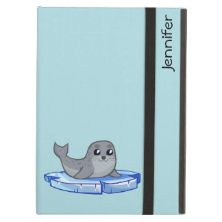 Cute baby seal cartoon kids iPad air case