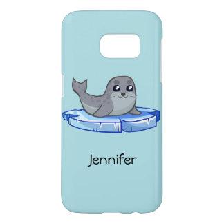 Cute baby seal cartoon kids samsung galaxy s7 case