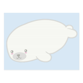 Cute Baby Seal Postcard