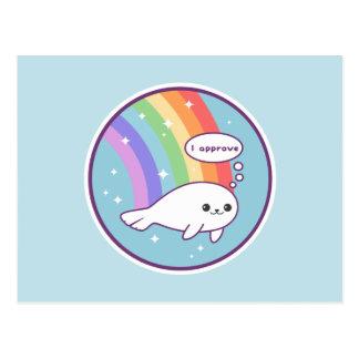 Cute Baby Seal Postcard