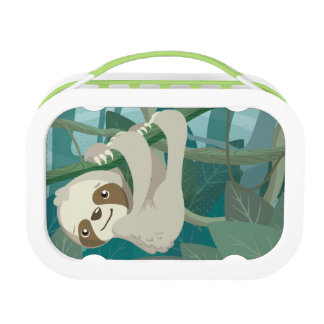 Cute Baby Sloth on a Branch Lunch Boxes