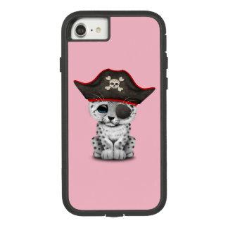 Cute Baby Snow Leopard Cub Pirate Case-Mate Tough Extreme iPhone 8/7 Case