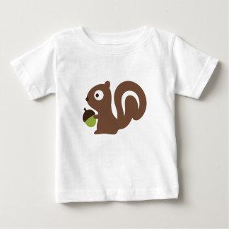 Cute Baby Squirrel Design Baby T-Shirt