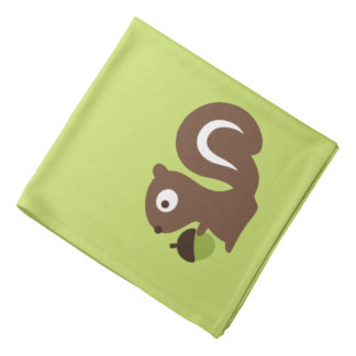 Cute Baby Squirrel Design Bandana