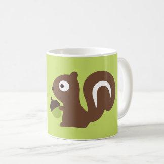 Cute Baby Squirrel Design Coffee Mug