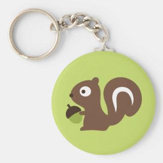 Cute Baby Squirrel Design Keychain