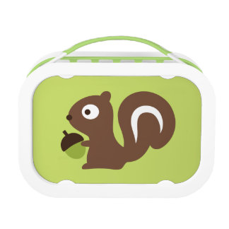 Cute Baby Squirrel Design Lunch Box