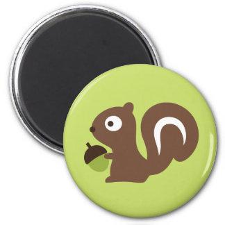 Cute Baby Squirrel Design Magnet