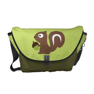 Cute Baby Squirrel Design Messenger Bag