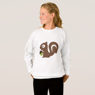 Cute Baby Squirrel Design Sweatshirt