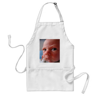 Cute baby standard apron