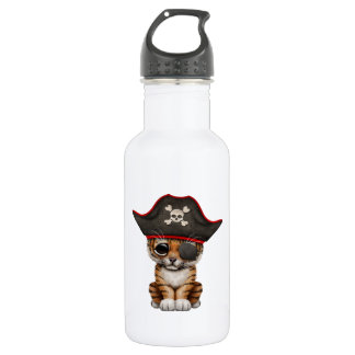 Cute Baby Tiger Cub Pirate 532 Ml Water Bottle