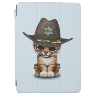 Cute Baby Tiger Cub Sheriff iPad Air Cover