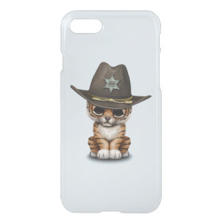 Cute Baby Tiger Cub Sheriff iPhone 8/7 Case
