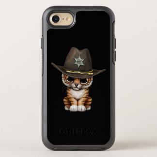 Cute Baby Tiger Cub Sheriff OtterBox Symmetry iPhone 8/7 Case