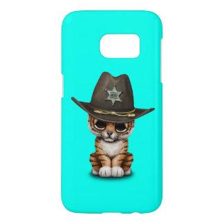 Cute Baby Tiger Cub Sheriff Samsung Galaxy S7 Case