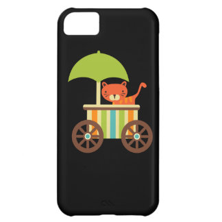 Cute Baby Tiger on Black Gifts for Kids Baby iPhone 5C Cases