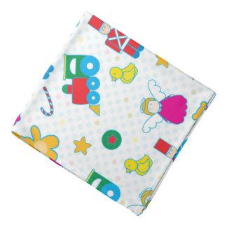Cute baby toys bandannas