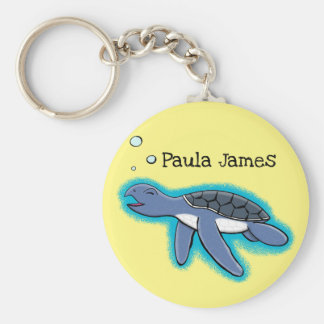 cute baby turtle cartoon keychain