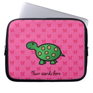 Cute baby turtle computer sleeves