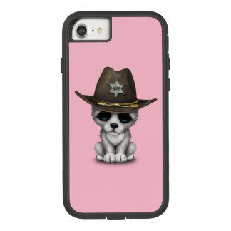 Cute Baby Wolf Sheriff Case-Mate Tough Extreme iPhone 8/7 Case