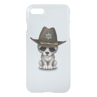 Cute Baby Wolf Sheriff iPhone 8/7 Case