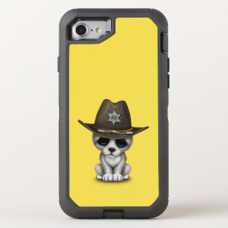 Cute Baby Wolf Sheriff OtterBox Defender iPhone 8/7 Case