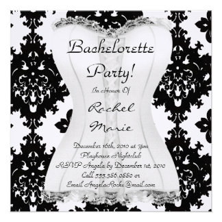 CUTE Bachelorette Party Designer Invites