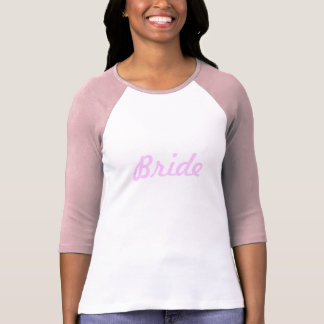 Cute Bachelorette Wedding Planning Bride T-Shirt