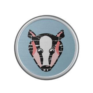 Cute Badger Face Bluetooth Speaker