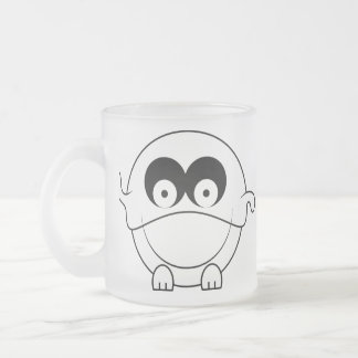 Cute Ball Frosted Glass Coffee Mug