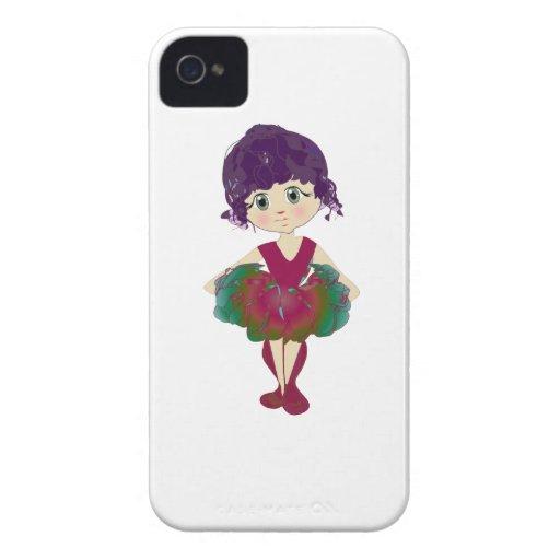 Cute Ballerina Blackberry Case