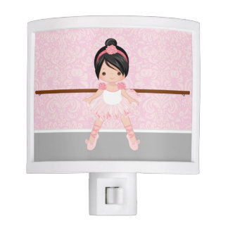 Cute ballerina nite light