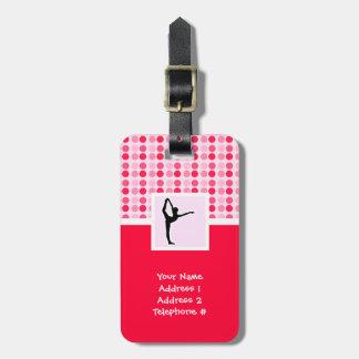 Cute Ballet Luggage Tag
