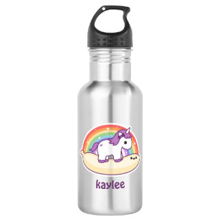 Cute Banana Unicorn 532 Ml Water Bottle