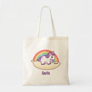 Cute Banana Unicorn Budget Tote Bag