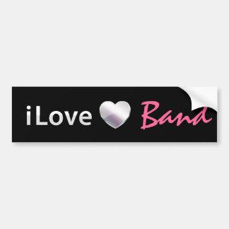 Cute Band Car Bumper Sticker