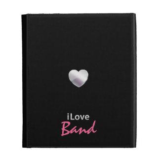 Cute Band iPad Case