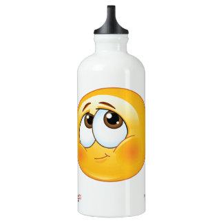 Cute Bashful Smiley Water Bottle