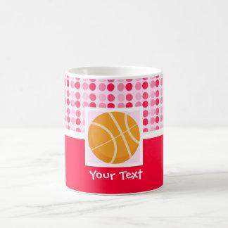 Cute Basketball Basic White Mug
