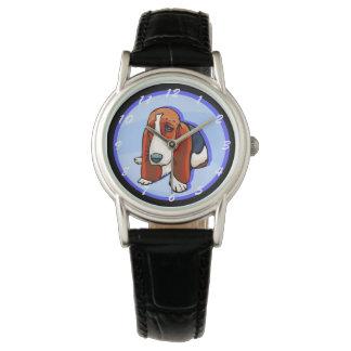 Cute Basset Hound Watch
