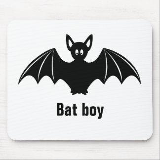 Cute bat cartoon pun joke boys mousepad