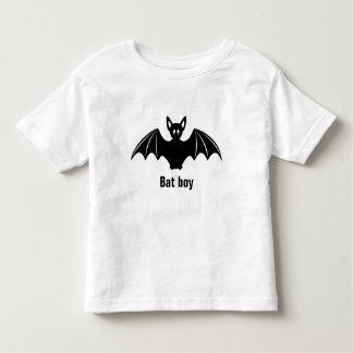 Cute bat cartoon pun joke toddlers shirt