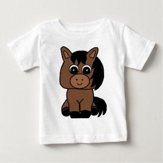 Cute Bay Horse Baby T-Shirt