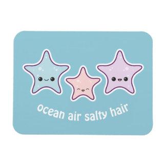 Cute Beach Starfish Rectangular Photo Magnet
