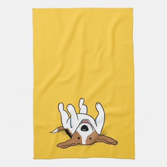 Cute Beagle Cartoon Dog Kitchen Towels