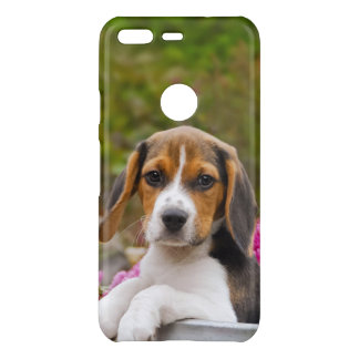 Cute Beagle Dog Puppy in Milk Churn Pet Photo / Uncommon Google Pixel Case