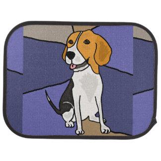 Cute Beagle Puppy Dog Car Mat