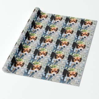 Cute Beagle Wrapping Paper