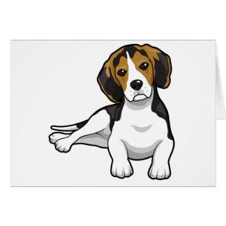 Cute Beale Puppy Card